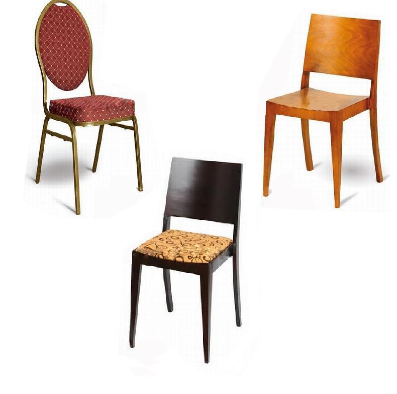 Krzesła sztaplowane / nastawne
