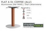 FLAT A 01 COFFEE (ALU)