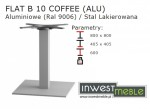 FLAT B 10 COFFEE (ALU)