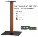 FLAT B BIG 02 BAR (BK)