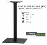 FLAT B BIG 10 BAR (BK)