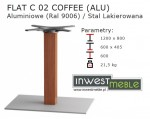 FLAT C 02 COFFEE (ALU)