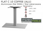 FLAT C 10 COFFEE (ALU)