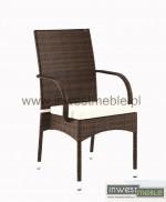 Krzesło tramonto brązowe-1302591966